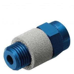 Festo GRE-1/8 Exhaust Air Flow Control Valve, G1/8, 520 l/min, Silencer Function, Slotted Head Screw (10351)