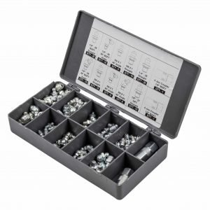 Lubemate_L-NP110AG_Agricultural-110pcs Grease Fitting Kit_Contents